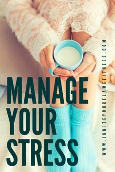 Stress Management Post - Ignite Your Flame Fitness Stress Management Techniques, Natural Stress Relief, Chronic Stress, Finance, Posts, Blog, Messages, Blogging, Economics