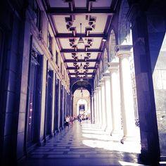 Escaping the heat in Milan... Instagram: @wearehandsome