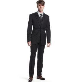 Bar III Black Solid Slim-Fit Jacket - Blazers & Sport Coats - Men - Macy's