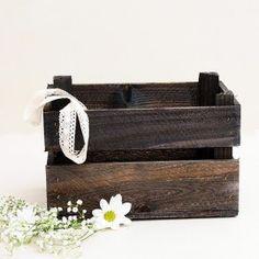 Caja de madera rústica para bodas: Pequeña