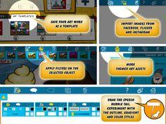 comics head create comic books for ipad Digital Storytelling, Creative Kids, Fourth Grade, Kids And Parenting, App Design, Have Fun, Presentation, Comic Books, How To Apply