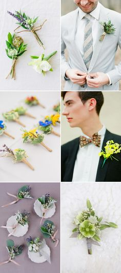 When we talk about wedding floral trends for 2016, the versatility of the boutonnieres is something we simply cannot miss. While brides are expressing their individuality and style through bouquets, why can't guys show off theirs too? Boutonnieres are a great way to add character to your wedding wardrobe, and here are some creative styles …
