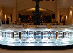 New Year's Eve event held by Hotel Adlon Berlin Ice Art, Event Lighting, Have Some Fun, Liquor Cabinet, Carving, Lights, Berlin, Events, Technology