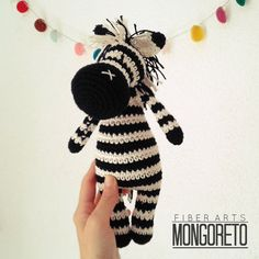 Amigurumi pattern x Unicorn, Zebra and Horse in Crochet Zebra, Free Crochet, Crochet Dolls, Crochet Hats, Crochet Projects, Lana, Crochet Necklace, Crochet Patterns, Etsy