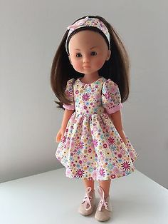 """Dress Fits 13"""" 33 cm Corolle Les Cheries Doll Clothes Headband"""