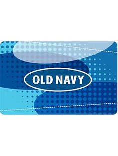 Old Navy Gifts cards