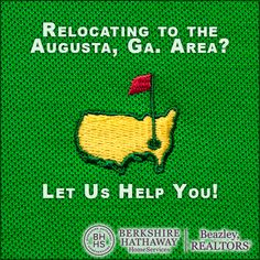 Relocating to the Augusta, Ga. area? We would love to help you find the perfect home for you and your family. As you may know, Augusta is known around the world as home of the Master's golf tournament. But there is so much more that this charming city has to offer. There are many career and job opportunities here - from Fort Gordon military base, to the Medical College of Georgia / Georgia Regent's University and area health care facilities, as well as teachers, sales associates, civil…