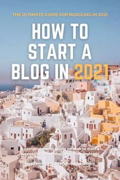 Is blogging still a thing in 2021? Definitely. In this guide, I'm writing about how you can start a travel blog (or any kind of blog). From finding the best web hosting provider and setting up your blog with WordPress to the best WordPress plugins and tips to increase your blog traffic. Finally, you'll read how you can monetize your blog and what to do if everything goes wrong. #blogging #travelblog #blog #foodblog #lifestyle #onlinemarketing #adventure #SEO How To Create A Successful Blog, How To Start A Blog, Blog Writing, Writing Tips, Seo Guide, Blog Topics, Online Entrepreneur, Wordpress Plugins, Blogging For Beginners
