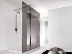 Sistema doccia in acciaio inox FLOOR 2 by Kos by Zucchetti design Ludovica Roberto Palomba