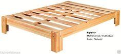 tarimas de madera cama - Buscar con Google