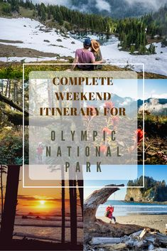 Train Travel, Train Trip, Most Visited National Parks, Olympic Mountains, Port Angeles, Spring Resort, Lake Cabins, Park Service, What To Pack