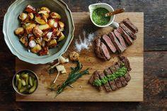 Argentine beef Asado recipes - Google Search Argentina Food, Argentina Recipes, Beef Sirloin, National Dish, Chimichurri, Portobello, Empanadas, Mozzarella, Bulgur