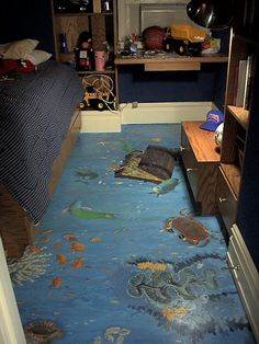 Children's Painted floor