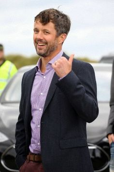 Crown Prince Frederik visiting as a protector, the Cold Hawaii PWA Cup in Klitmoelle, 15 Sep 2013. He even went surfing himself