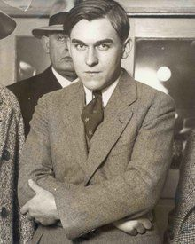 """Gordon Stewart Northcott, perpetrator of the Wineville Chicken Coop Murders. The Film """"Changeling"""" was inspired by his actions."""