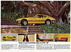 (via Museum Capsule: 1974 Volkswagen – The Brazilian Porsche) Volkswagen Karmann Ghia, Volkswagen 181, Sp2 Vw, Volkswagen Golf Variant, Volkswagen Models, Vw Variant, Vw Golf Variant, Porsche 914, Vw Fox
