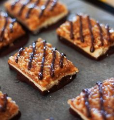 Caramel delight bars