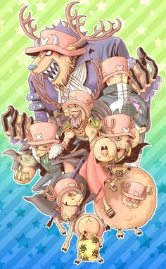 Chopper as Shikibukai