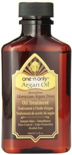 Argan Oil Treatment, 3.4 Ounce Hair Care Shine and Damage Control Beauty
