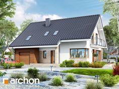 projekt Dom w idaredach (A) widok 1
