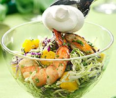 Chive Up Seafood Salad Recipe http://www.pinoyrecipe.net/chive-up-seafood-salad-recipe/