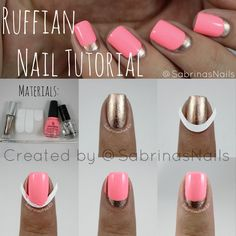 How to Do a Ruffian Manicure