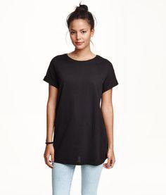 Long T-shirt | Product Detail | H&M