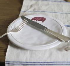 Farmhouse Animal Plates