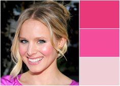 Blushing: Dewy pink cheeks