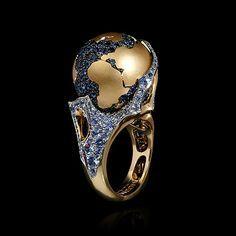 "Кольцо ""The World"" - buy in Mousson Atelier"