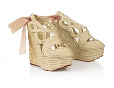 http://www.blog-chaussures.fr/2012/05/chaussures-du-jour-compensees-rapunzel-charlotte-olympia/ #shoes Charlotte Olympia