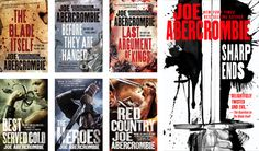 Books by Proxy | Cover Reveal: Sharp Ends by Joe Abercrombie – The First Law -Orbit US Covers