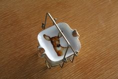 Golden Deer Chopstick Rest Set, Reminds me of my Papa, his love of deers and all his old coaster sets