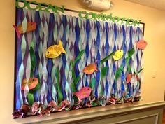 aquarium bulletin board ideas (1)   funnycrafts