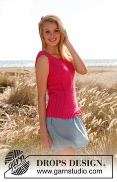 Knitting Patterns Galore - Pretty pink