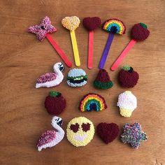"""Elif Handmade on Instagram: """"Yeni minnoşlar 🥰 Siparişlerim hazıırr ❤️ İster ayraç, ister magnet, ister toka ve isterseniz broş.. Kişiye göre sipariş yapılır..…"""" Crochet Necklace, Instagram, Jewelry, Jewlery, Jewerly, Schmuck, Jewels, Jewelery, Fine Jewelry"""