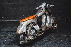 Cafe Racer: Bender Vespa motoboy ̿ ̿ ̿̿̿̿̿'̿'\̵͇̿̿\=(•̪●)=/̵͇̿̿/'̿̿ ̿ ̿ ̿ ̿samuel.orisio