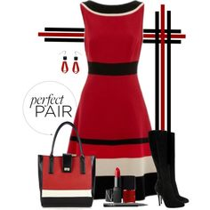 Color Block Squared, created by chrissykp on Polyvore