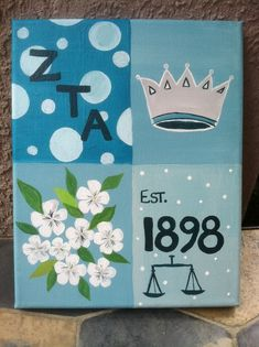 ZTA Zeta Tau Alpha! Something for the glittle!