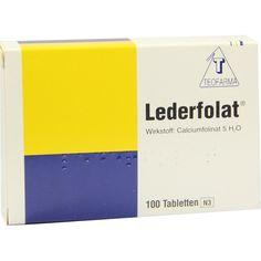 #LEDERFOLAT Tabletten rezeptfrei im Shop der pharma24 Apotheken