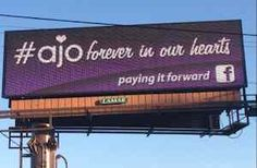 AJO pay it forward