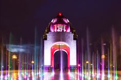 ARCHITECTURE III | LIGHTING A new fountain in the refurbished esplanade features a light show designed by Citelum, which goes on for 15 minutes every hour. The building's illumination changes every...