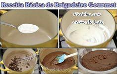 Brigadeiro gourmet http://www.panelaterapia.com/2014/09/brigadeiro-gourmet-receita-basica.html