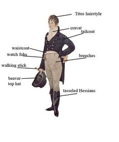 Tailcoat, men's Regency fashion early (Required study for Regency Romance lovers & Jane Austen lovers. 1800s Fashion, 19th Century Fashion, Mens Fashion, Steampunk Fashion, Gothic Fashion, 18th Century, Medieval Fashion, Gothic Steampunk, Steampunk Clothing