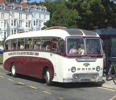 Retro seaside coach