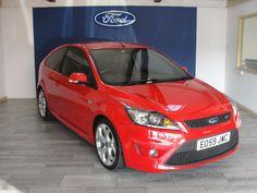 Ford Focus 2.5 ST-3 3dr Hatchback Petrol Red