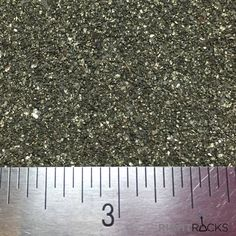 Natural Pyrite crushed to the size of Small Sand. We have this available in a one ounce size for Artists new to our Collection or in our normal 1/4 Pound (four ounce) size for seasoned Artists. Pyrite, also known as fools gold, has been collected by treasure hunters and Artists (such as jewelry makers, woodturners, and painters) for centuries. Pyrites golden glitter can be seen in even the dimmest of lighting, which makes it a eye catching addition to any project. Our product is 100%…
