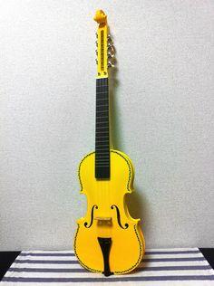 "Tahitian Ukulele #10 ""Vaiolinoid"" 8strings Violin style Tahitian Ukulele. [ ANANI UKULELE ]"
