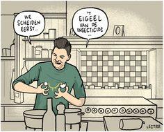 Cartoon van de dag - augustus 2017 - De Standaard
