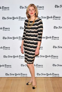 """2012 NY Times Arts & Leisure Weekend - TimesTalks With The Cast Of """"The Good Wife"""" & Errol Morris"""